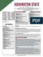 WSU 16FB Game Notes - Arizona