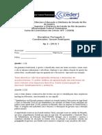 Ap2 Português II - Gabarito