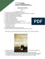 Cuestionario Español Grado 11o.