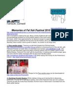 Memories of Fal River Festival 2010