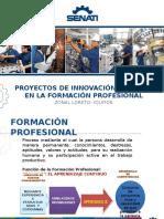 Presentación Diapositiva Proyectos de Innovación y Mejora -IIAP