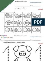 Cuadernillo Complementario Eduación Preescolar 4 Años Animales