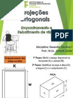 DT - Capítulo 3 - Projeções Ortogonais - Enquadramento e Rebatimento