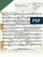 Concierto Para Piano en F - Corno Inglés