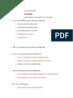 Registers in Microprocessor