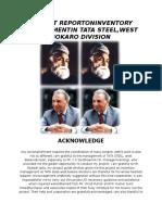 Project Reportoninventory Managementin