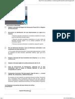 Listado de Recaudos Apertura de Cuenta Juridica Mercantil