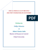 Fiscal Stimulus - Pros and Cons