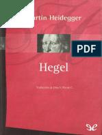 Heidegger, Martin - Hegel [30684] (r1.0)