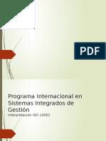 Interpretación ISO 14001