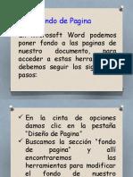Guia Fondo de Pagina Word