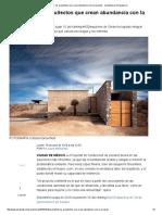 Greenfield_ Los Arquitectos Que Crean Abundancia Con La Escasez - Arquitectura Obrasweb