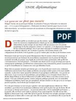 La Gauche Ne Peut Pas Mourir, Par Frédéric Lordon (Le Monde Diplomatique, Septembre 2014)