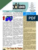 """06-13-2010 """"El Conquistador"""" Boletín Semanal de """"La Casa de Todos"""""""""""