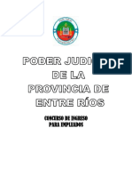 Cuadernillo - Concurso de Ingreso Al Poder Judicial