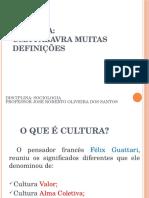 Aula Cultura e Antropologia