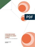 Concreciones Curriculares LOMCE 2015_16