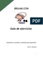 Guía de Ejercicios de Gimnasia Cerebral