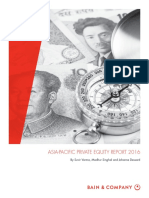 Bain and Company Asia-Pacific Private Equity Report 2016