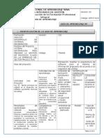 GFPI-F-019 Formato Guia de Aprendizaje Lenguaje No Verbal Proxémica