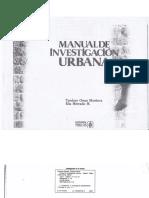 Manual de Investigacion Urbana