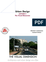 The Visual Dimension of Urban Design