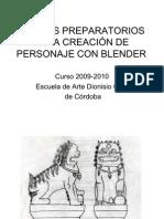 DIBUJOS PREPARATORIOS
