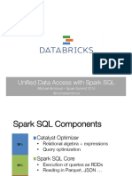 Unified Data Access With Spark SQL