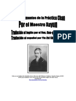 Los Fundamentos de La Práctica Chan Del Maestro Xu Yun