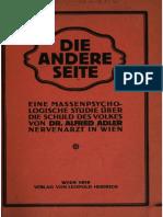 Adler 1919 Die Andere Seite