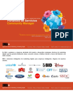 Brochure Community Manager
