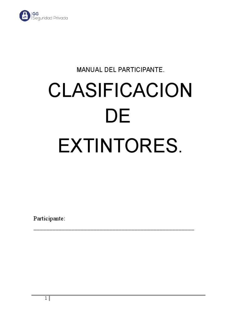 Manual Del Participante Clasificacion de Hidrantes