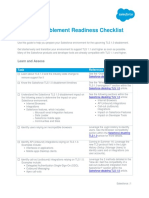 TLS Readiness Checklist