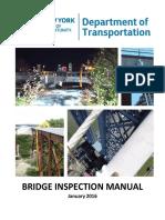 Bridge inspection manual NY