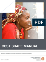 Cost Share Manual