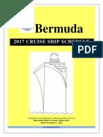 2017 Cruise Ship Schedule