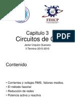 3. Circuitos en AC (2016 - 1T)