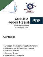 2. Redes Resistivas (2016-1T)