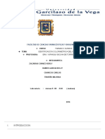 Identificación Colorimetrica Del Cloranfenicol