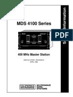 MDS 4100-Service Information
