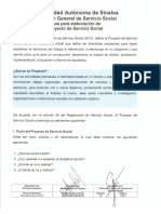 (46) Guía Para Elaboración de Proyecto de Servicio Social V2
