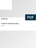 Fortiap v5.2.6 Release Notes