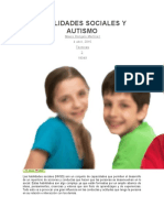 Habilidades Sociales y Autismo