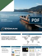 2012.10 Challenges in Vessel Speed Optimization