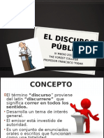 Discurso Publico 2013