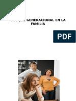 Choque Generacional en La Familia