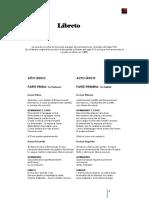 Libreto Lucia Di Lammermoor