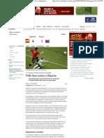 Villa hace soñar a España