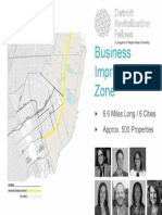 Proposed Mack AvenueBusiness Improvement Zone