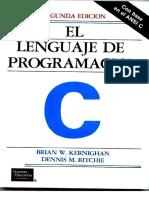 El Lenguaje de Programacion C Ritchie-Kernighan 2Ed